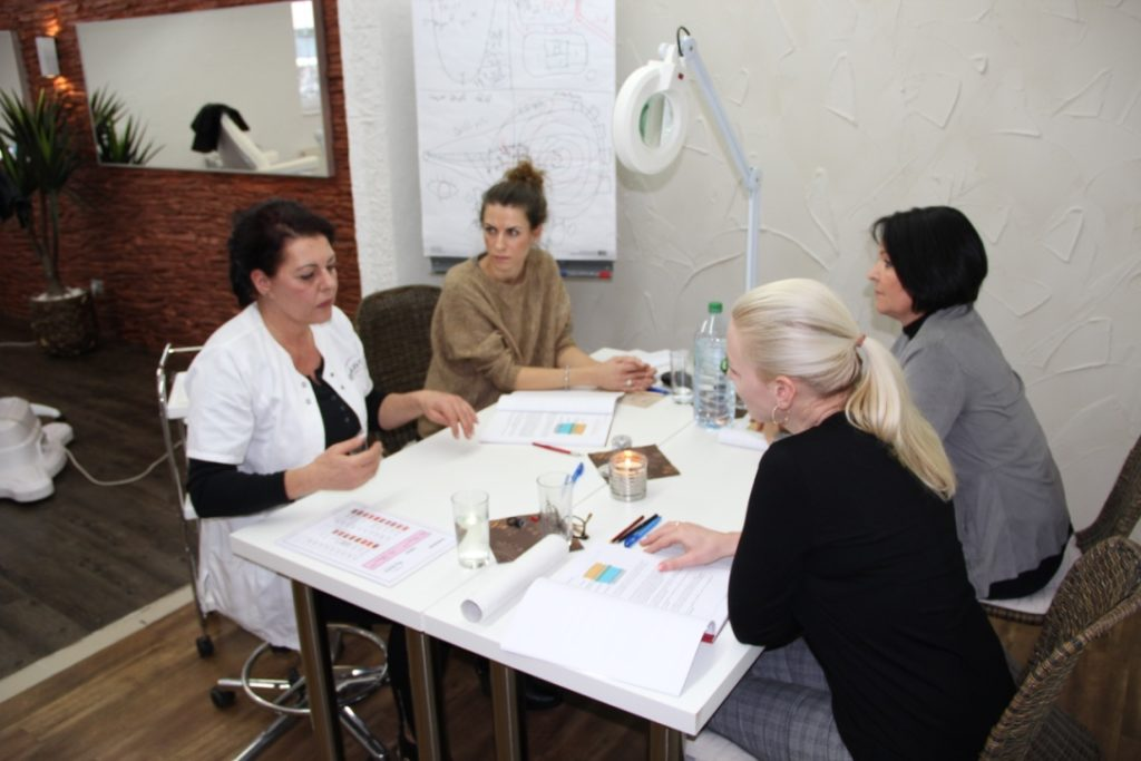 Permanent Make-up Schulung